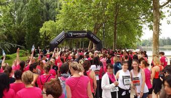Course contre le cancer du sein